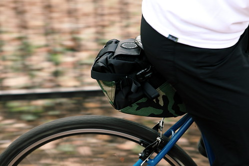FAIRWEATHER - Seat Bag LTD woodland camo