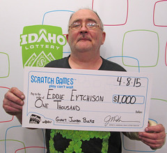 Eddie Eytchison from Garden City, ID - $1,000 Giant Jumbo Bucks