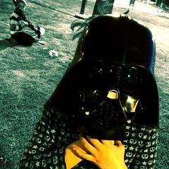 My little friend, Darth Vader.