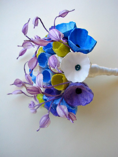 Paper Flower Bouquet by Alessandra Fabre Repetto
