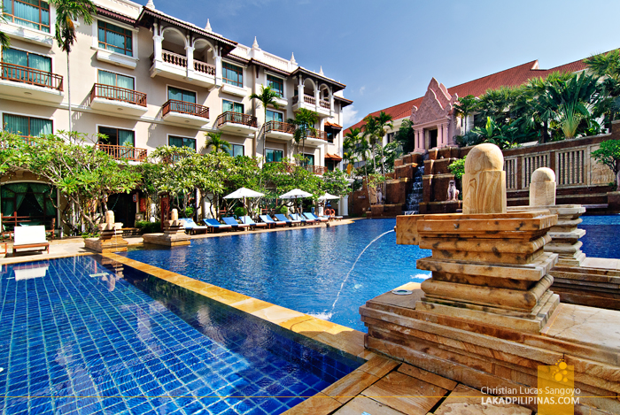 Sokha Angkor Resort Swimming Pool in Siem Reap