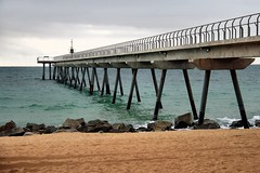 Badalona: Pont del Petroli