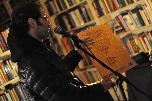 Stefan Christoff at Black Squirrel Books