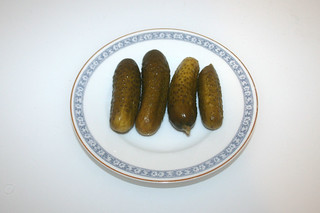 08 - Zutat Gewürzgurken / Ingredient gherkins