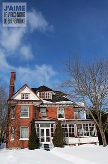 Maison du boul. Queen-Victoria, Sherbrooke, Qc