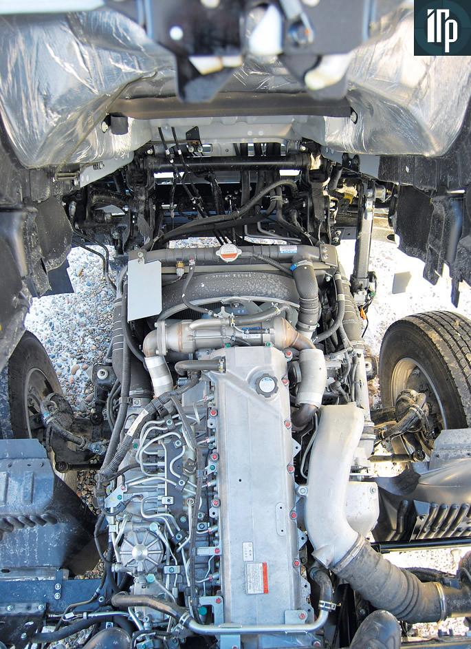 двигатель hino 500