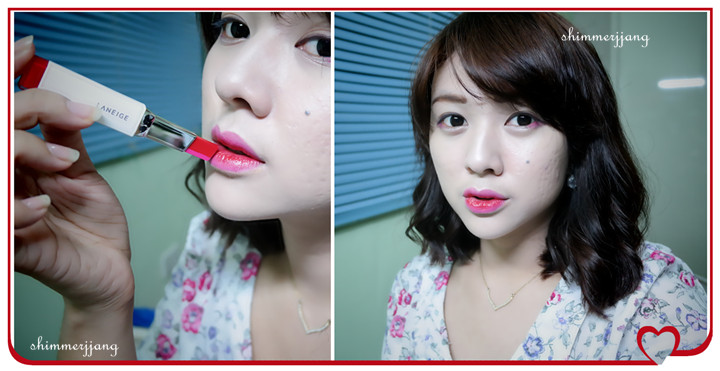 Shimmering Thoughts - Laneige Two Tone Lip Bar Review. (#5