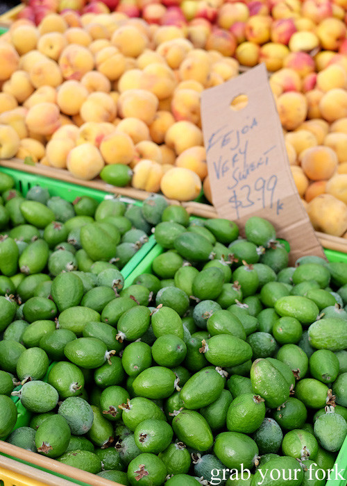 Feijoas at Harbourside Market, Wellington