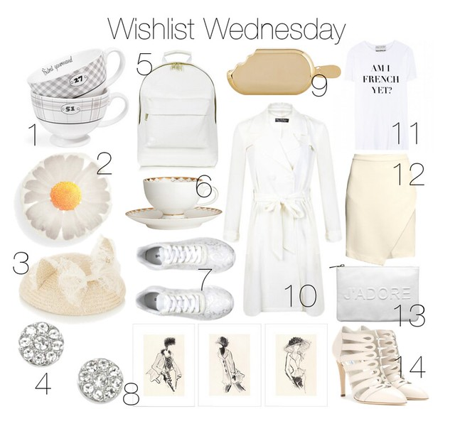 Shopping Wishlist inspired by White I www.StylebyCharlotte.com