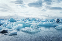 cloud, sea, ocean, glacial landform, melting, ice cap, polar ice cap, ice, glacier, sea ice, freezing, iceberg,