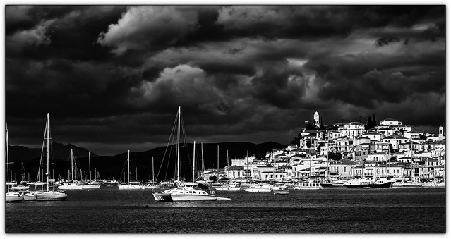 2481SE Storms over Poros, Greece