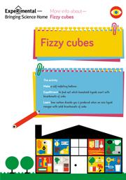 fizzy cubes Infosheet