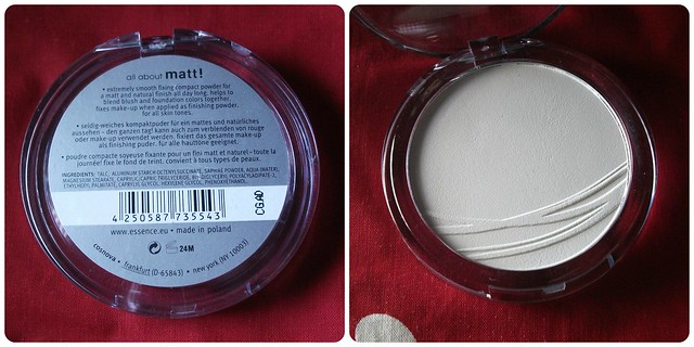Essence All About Matt Powder Review