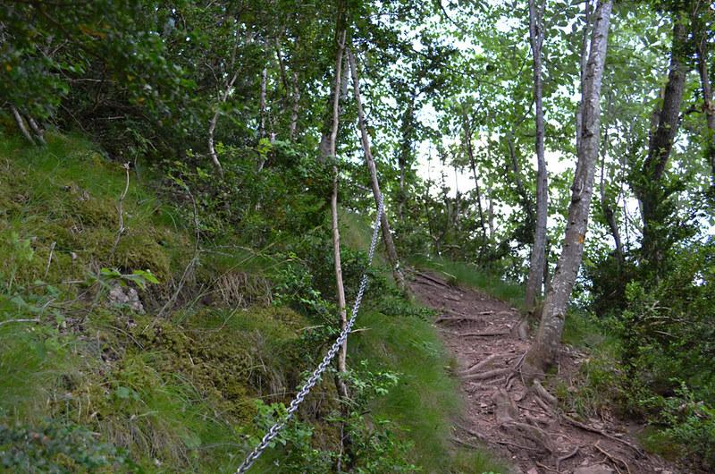 Route to Ermita Sant Antoni, Camprodon, Pyrenees, Spain