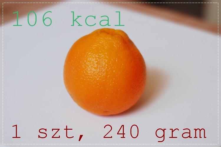 pomarańcza waga