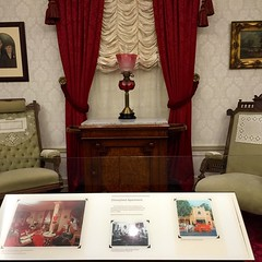 It took 1 year and 1 day to build the original @Disneyland. During the construction, Walt needed a little place to stay. Above the firehouse on Main St. sits a tiny, hidden apartment. He stayed there after opening as well. This is the original furniture a