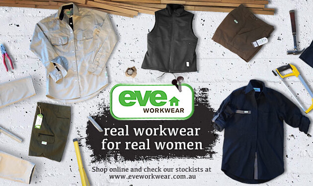 Eve Renovations and Workwear is enjoying the growth in demand for female safety wear