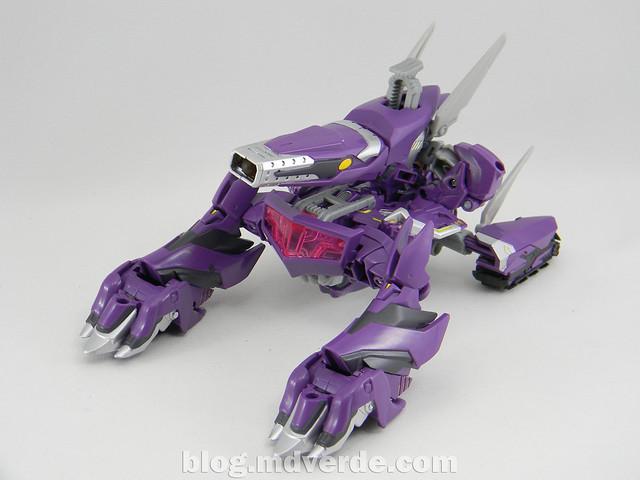 Transformers Shockwave Voyager - Generations SDCC Exclusive (Shockwave's Lab) - modo alterno