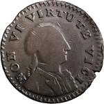1786 Non Vi Virtute Vici Copper