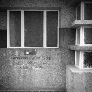 'Imprimerie des Sciences' - #Brussels #Belgium 2015 #architecture #bw #smartshots #industrial #photography #samsung #samsungs4