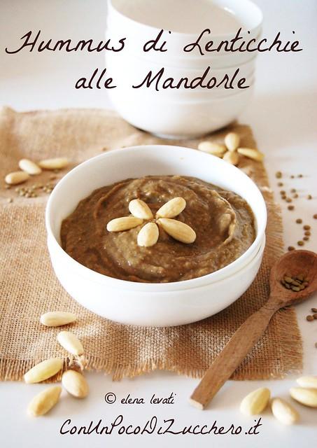 Hummus di lenticchie alle mandorle