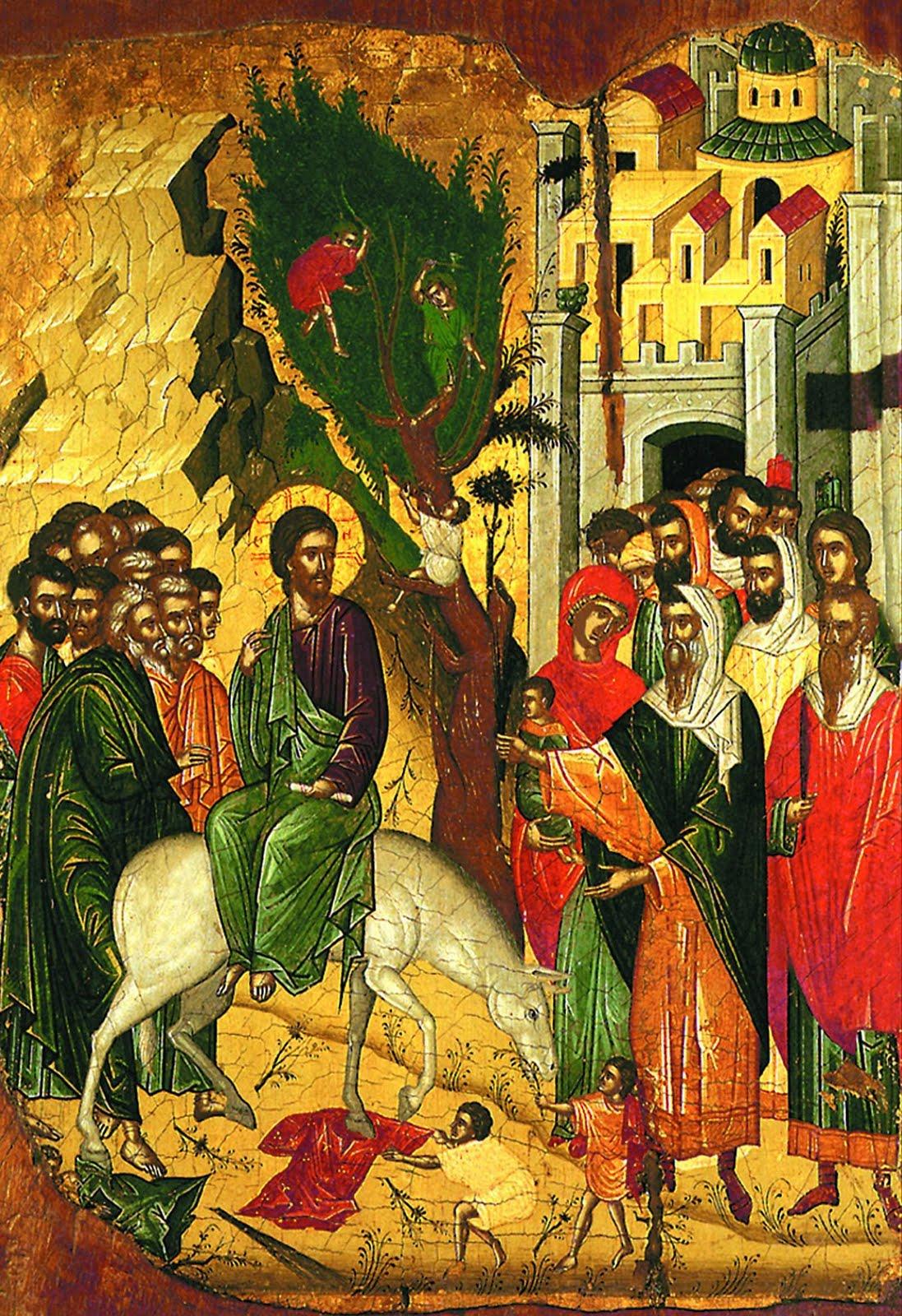 intrarea Domnului in Ierusalim 2015