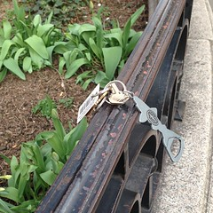 Someone left their keys in Union Sq. They're in for a shock when they find out.