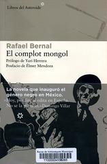 Rafael Bernal, El complot mogol