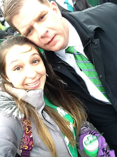 Jenna Marcello & Boston Mayor Marty Walsh 040215