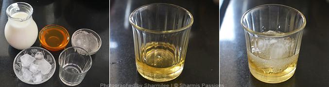 How to make Paal Sarbath Recipe - Step1