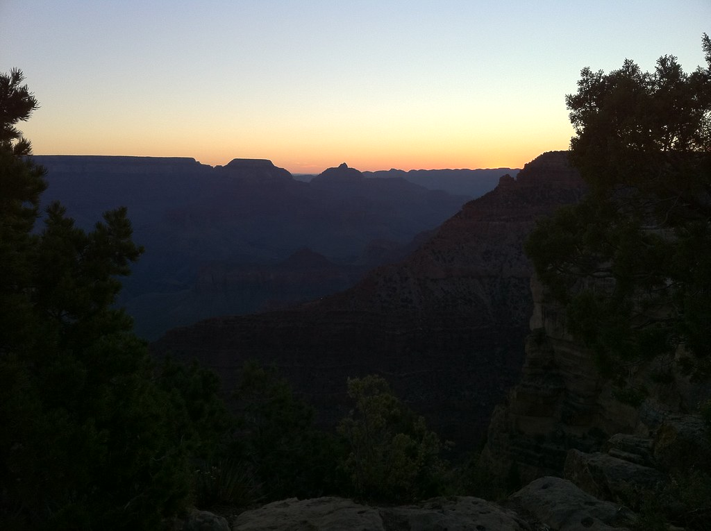 The Grand Canyon in the morning