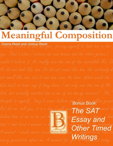 Character Ink Product Review: The SAT Essay and Other Timed Writing