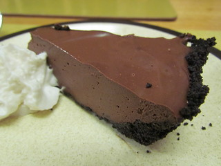 Chocolate Mint Truffle Pie