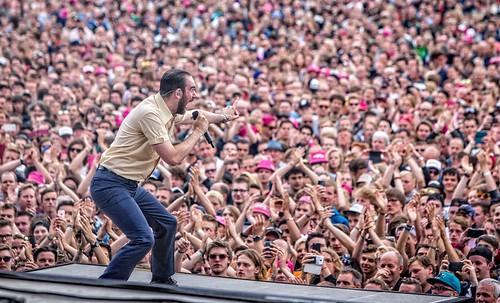 Pinkpop 2016 mashup foto - De Staat op Pinkpop 2016