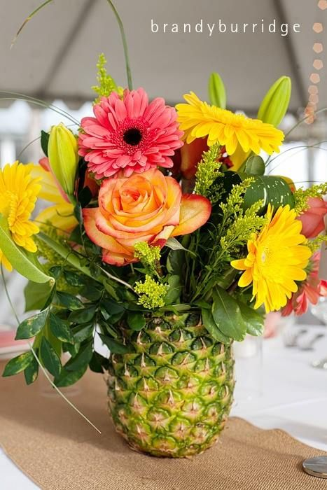 A pineapple will make your dining table more exotic and cheerful