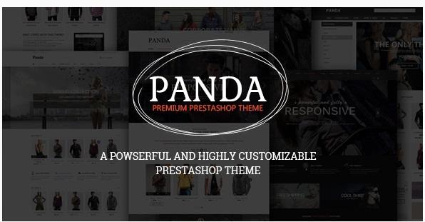 Panda v1.3.1 - Responsive Prestashop Theme