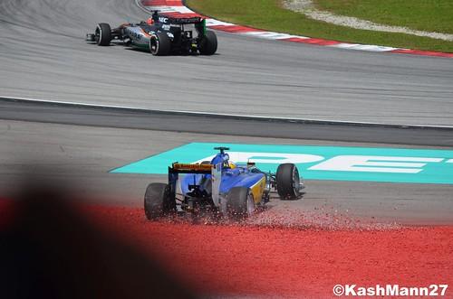 Ericsson spins!