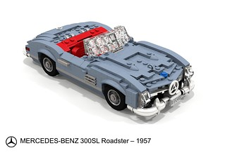 Mercedes-Benz 300SL Roadster  (1957)
