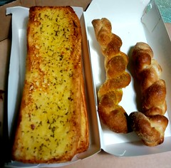 Garlic Bread Domino Pizza JB