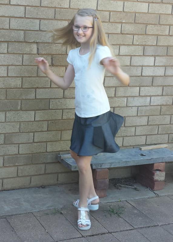 Oliver + S Hula Hoop skirt (reversible, size 10)