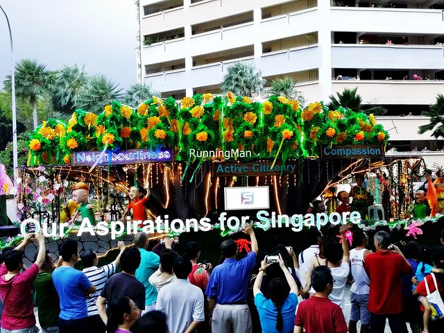 Chingay @ Heartlands 2015 - Finale C Float - Our Aspiration for Singapore