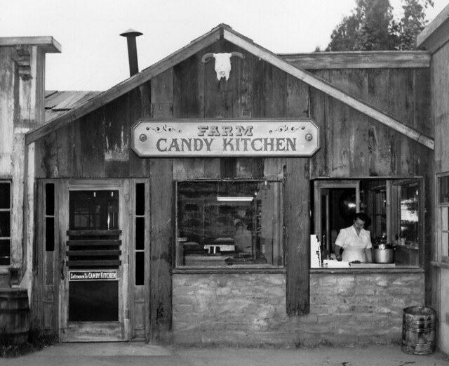 Candy Kitchen, Knott's Berry Farm, circa 1957