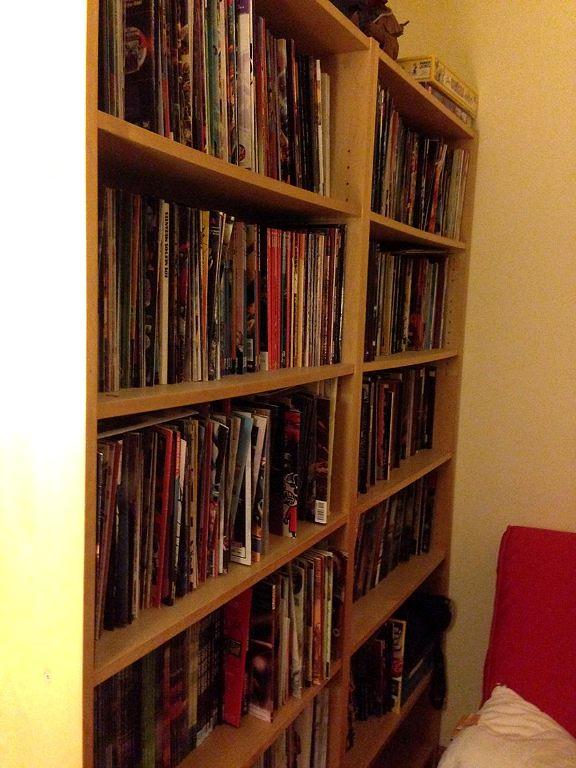 La biblioteca de Fernando Blanco #comic