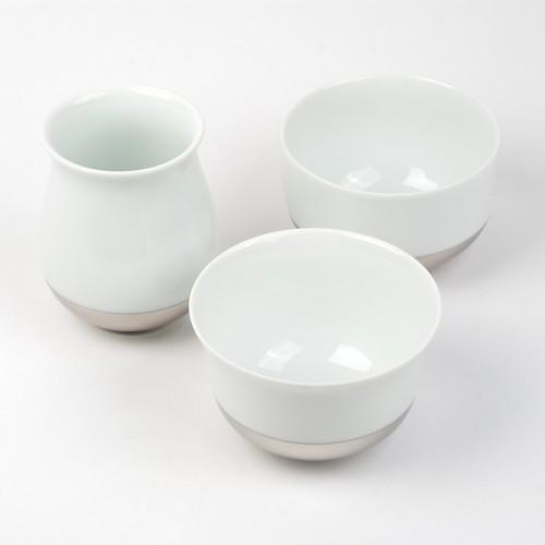 Ensemble de tasses de dégustation Ting 'platinium'