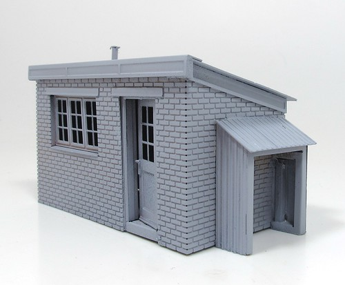 Etched hut primed