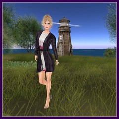 Purple Moon, Dress Me Purple Hunt: Heidi Coat:Dress (Hunt #4)