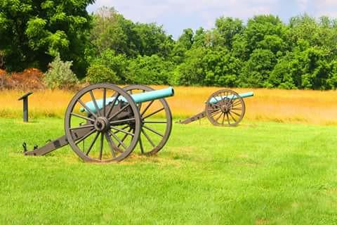 Federal Artillery Matthew's Hill Manassas