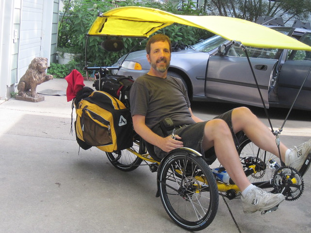Here it is deployed  sc 1 st  BentRider Online & Canopies On Trikes - Page 3 - BentRider Online Forums