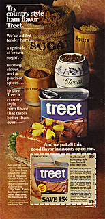 """TREET :: """"Try country style ham flavor - .. """" (( 1976 ))"""