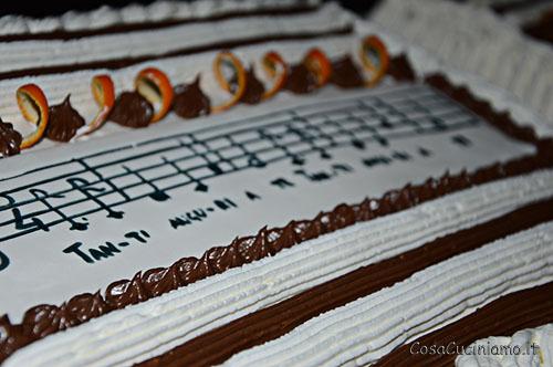 Torte - 55 - Torta panna arancia e cioccolato
